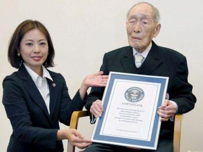 विश्वका जेठा व्यक्तिको ११२ वर्षको उमेरमा निधन
