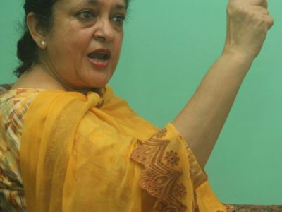 सभापतिमा उठ्दै छु : सुजाता कोइराला