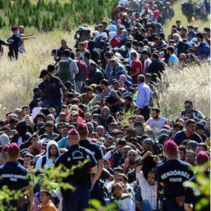 'आप्रबासीका कारण युरोपका सीमाहरु खतरामा'