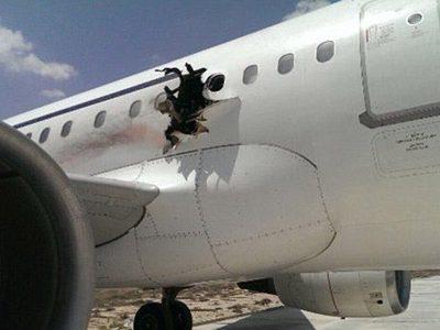 उडिरहेको विमानमा विस्फोट