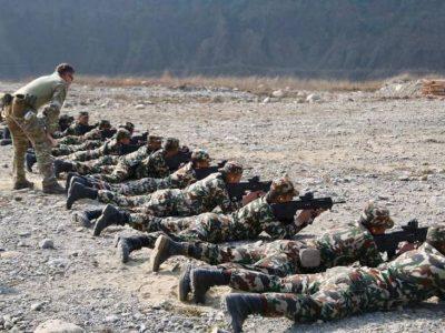 नेपालको सैन्य तालिममा समेत अमेरिका–चीनको समारिक स्वार्थ