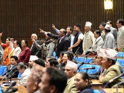 संसदमा काँग्रेस सांसद : विषयवस्तु उठाउनै सक्दैनन
