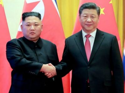 उत्तर कोरिया पुगे चीनका राष्ट्रपति