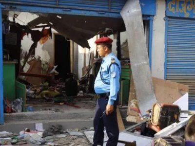 बम विस्फोटमा परेका विप्लब कार्यकर्ताको मृत्यु
