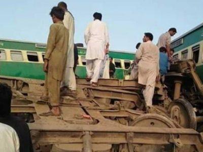 रेल दुर्घटनामा १० को मृत्यु, ६६ घाइते