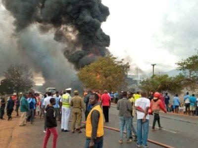 तान्जानियामा ट्याङ्कर विष्फोट हुँदा कम्तीमा ६० काे मृत्यु