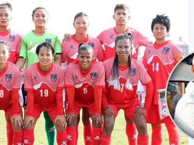 १३औं साग: महिला फुटबलमा नेपालको हार, प्रशिक्षकको राजीनामा, कप्तानद्वारा सन्यास