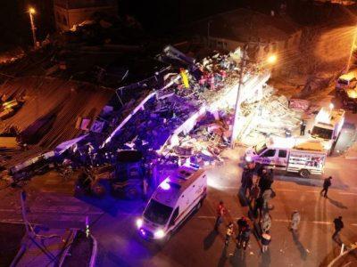 टर्कीमा ६.८ म्याग्नीच्युडको शक्तिशाली भूकम्प : १८ जनाको मृत्यु, सयौं घाइते