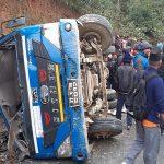 धादिङमा मिनिट्रक दुर्घटना ६ जनाको मृत्यु २० घाइते