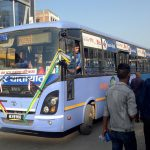 आजदेखि काठमाडौंमा मयूर यातायातको बस सञ्चालन