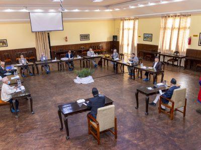 नेकपा सचिवालय बैठक आइतबारसम्मका लागि स्थगित