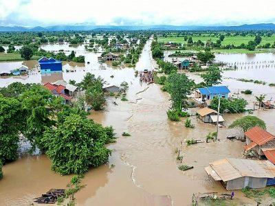 कम्बोडियामा बाढीका कारण २६ जनाको मृत्यु