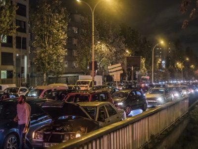 लकडाउनअघि फ्रान्सको राजधानी छाड्नेको संख्या बढ्यो, ७ सय किलोमिटरसम्म ट्राफिक जाम