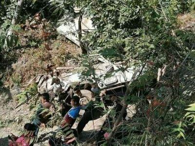 गुल्मी जीप दुर्घटना : मृत्यु हुनेको संख्या ६ पुग्यो