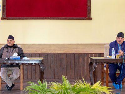 नेकपा सचिवालय बैठकमा ओलीले प्रस्तुत गरे प्रतिवेदन (पूर्णपाठ)
