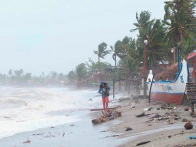 फिलिपिन्समा गोनी आँधीका कारण लाखौं सर्वसाधारण प्रभावित