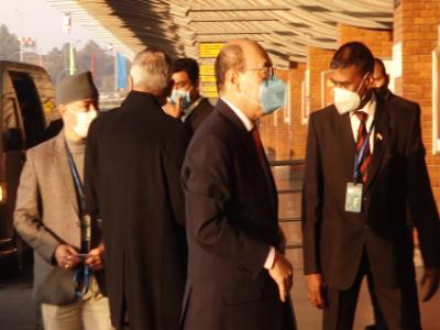 भारतीय विदेश सचिव श्रृंगला स्वदेश फर्किए