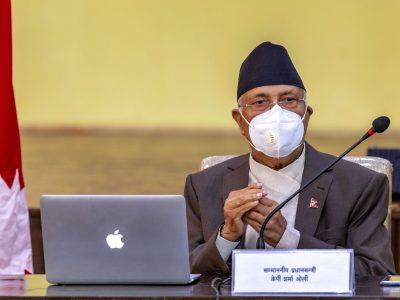 आरोप बदर भए प्रचण्ड हट्नुपर्छ, सदर भए म हट्छु : प्रधानमन्त्री