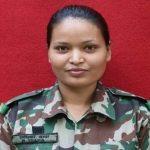 पहिलो पटक महिला सैनिकले पूरा गरिन् जंगल वारफेयर तालिम