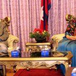 राष्ट्रपति भण्डारी र प्रधानमन्त्री ओलीबीच भेटवार्ता