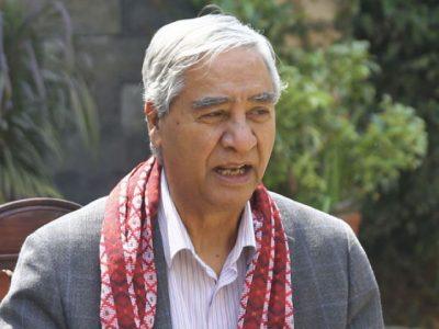 ओली भारतको टाङमुनि छिरे : देउवा