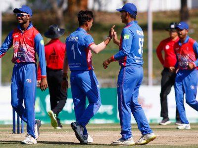 मलेसियाविरुद्ध नेपाल ६९ रनले विजयी