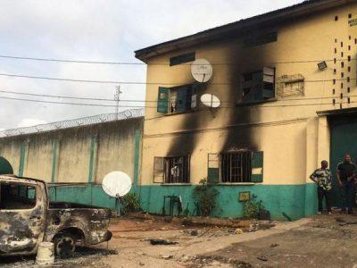 नाइजेरियाको जेलबाट १ हजार ८ सय बढी कैदी फरार