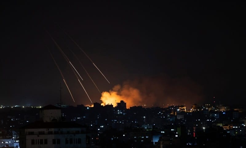११ दिनपछि इजरायल र प्यालेस्टाइनबीच युद्धविराम