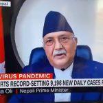 प्रधानमन्त्री ओलीद्वारा कोभिडविरुद्ध नेपाललाई सहयोग गर्न अन्तर्राष्ट्रिय समुदायलाई आग्रह