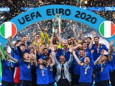 पेनाल्टीमा इंग्ल्याण्डलाई हराउँदै इटालीले जित्यो युरो कप